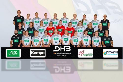 DHB-Team Frauen, Copyright: Sascha Klahn/saschaklahn.com