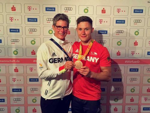 Felix Streng, Paralympicssieger mit der 4x100m-Staffel, Bronzemedaillengewinner im Weitsprung und 100m, Rio 2016